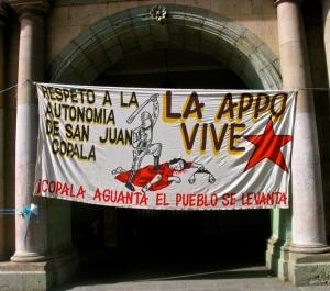 """""""Respeto a la autonomia de San Juan Copala"""""""