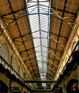 San Francisco Ferry Building ceiling