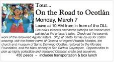 Ocotlan tour