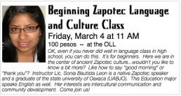 Zapotec class