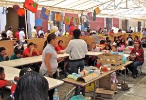 Book fair tent