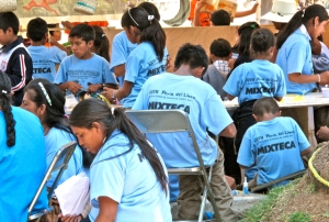 Mixteca book fair participants