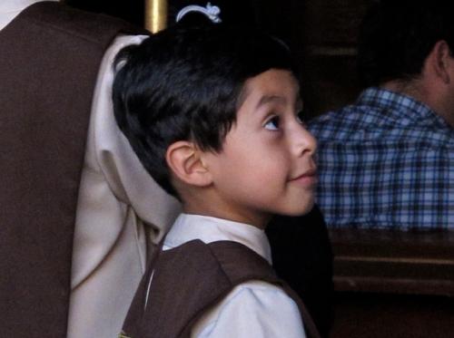 Angelic looking altar boy
