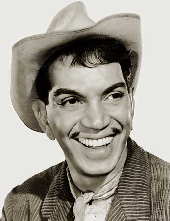 Cantinflas head shot with hat on