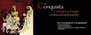 Banner for La Conquista a sangre y fuego