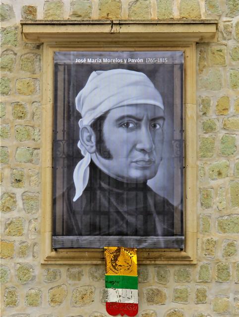 Portrait of José María Morelos y Pavón