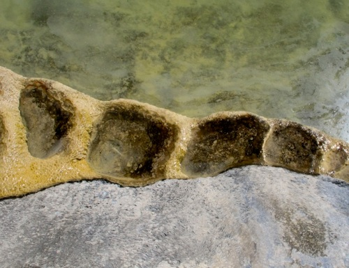 Water and stone pockets