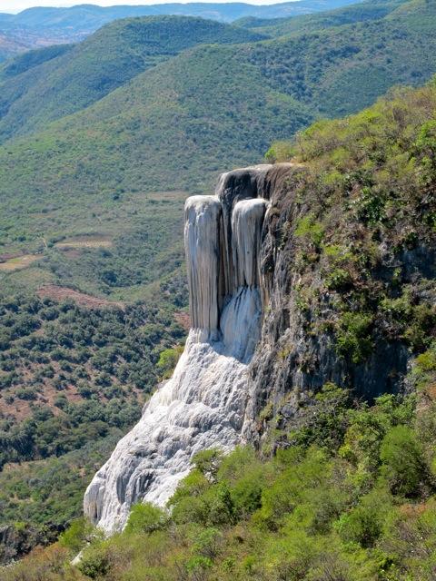 """Calcium carbonate """"waterfall"""""""