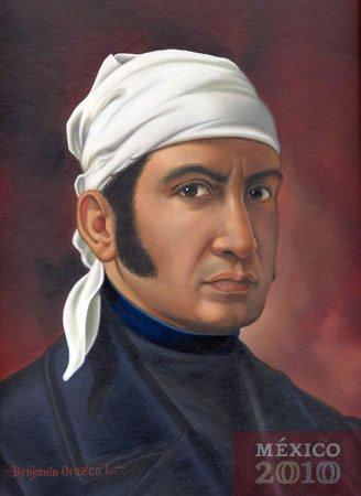 José María Morelos y Pavón painting