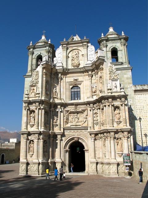 Facade of the Basílica de Nuestra Señora de la Soledad
