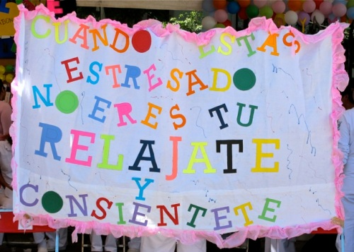 Banner:  Cuando estas estresado no eres tu relajate y consientete