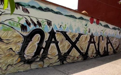 Wall art spelling OAXACA