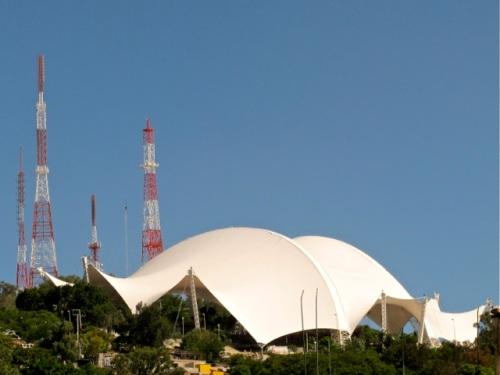 Guelaguetza Auditorium with full cover