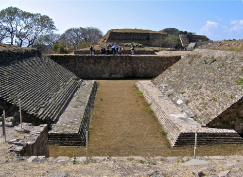 Ballcourt at Monte Albán