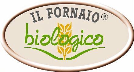 Oval sign: Il Fornaio biologico