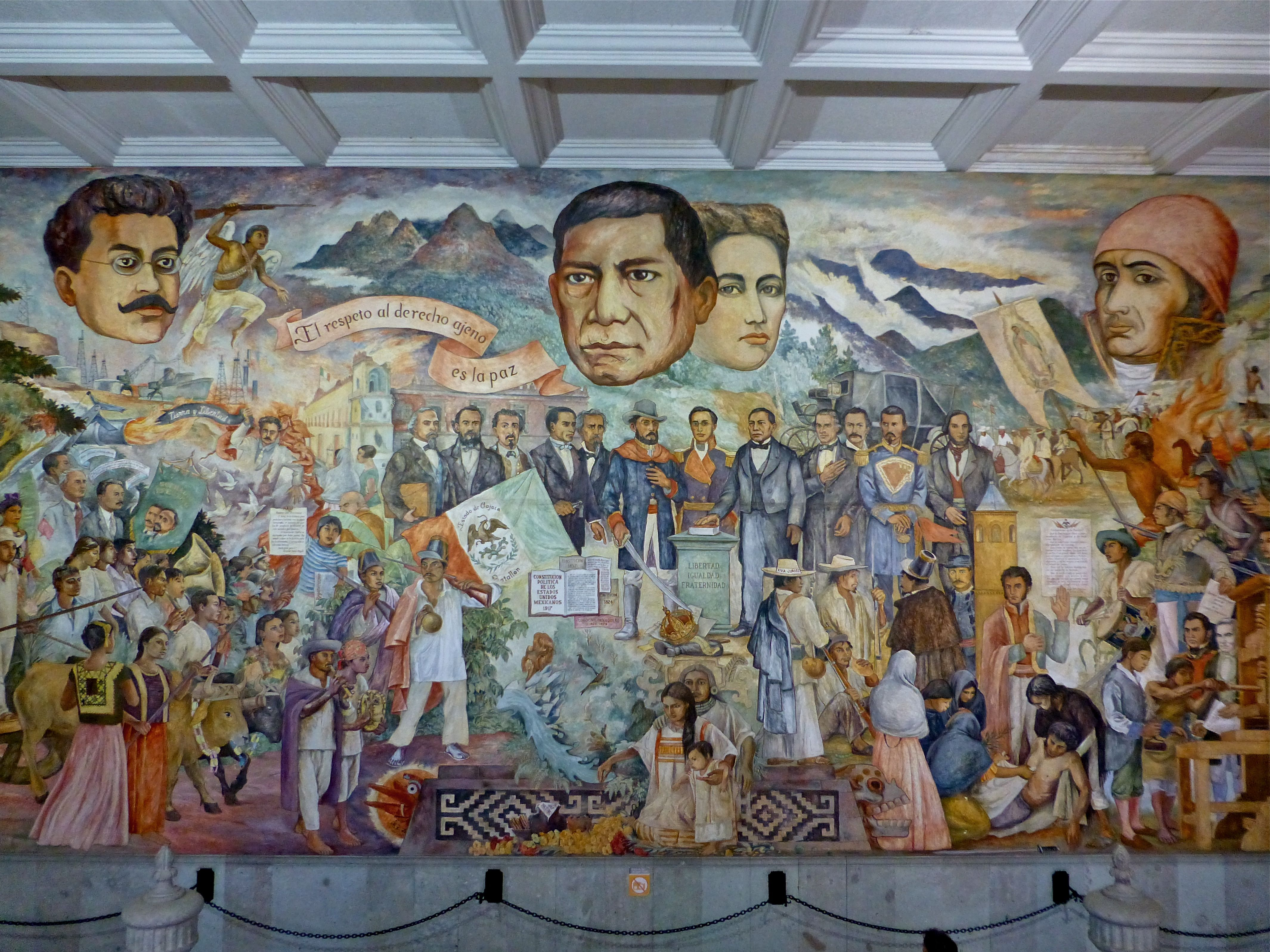 301 moved permanently for Benito juarez mural