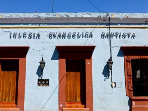 Front of Iglesia Evangelica Bautista