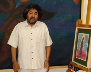 Juan Alcázar Méndez.  Photo from Consejo Nacional para la Cultura y las Artes