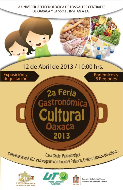 Feria Gastronómica poster