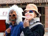 Another masked man & woman(?)