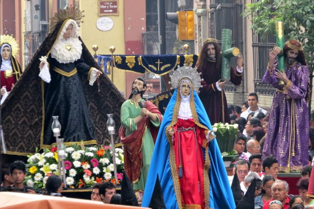 Statues of Mary and Jesus