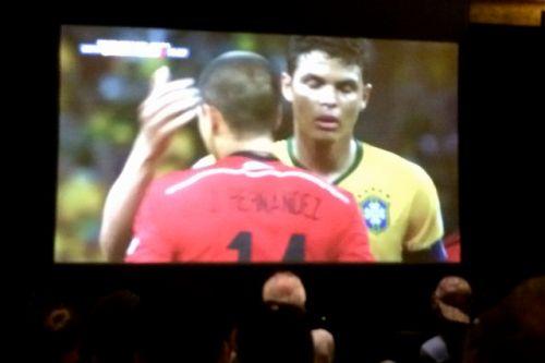 Screenshot of Chicharito and Brazilian player