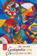 cartel oficial guelaguetza 2014