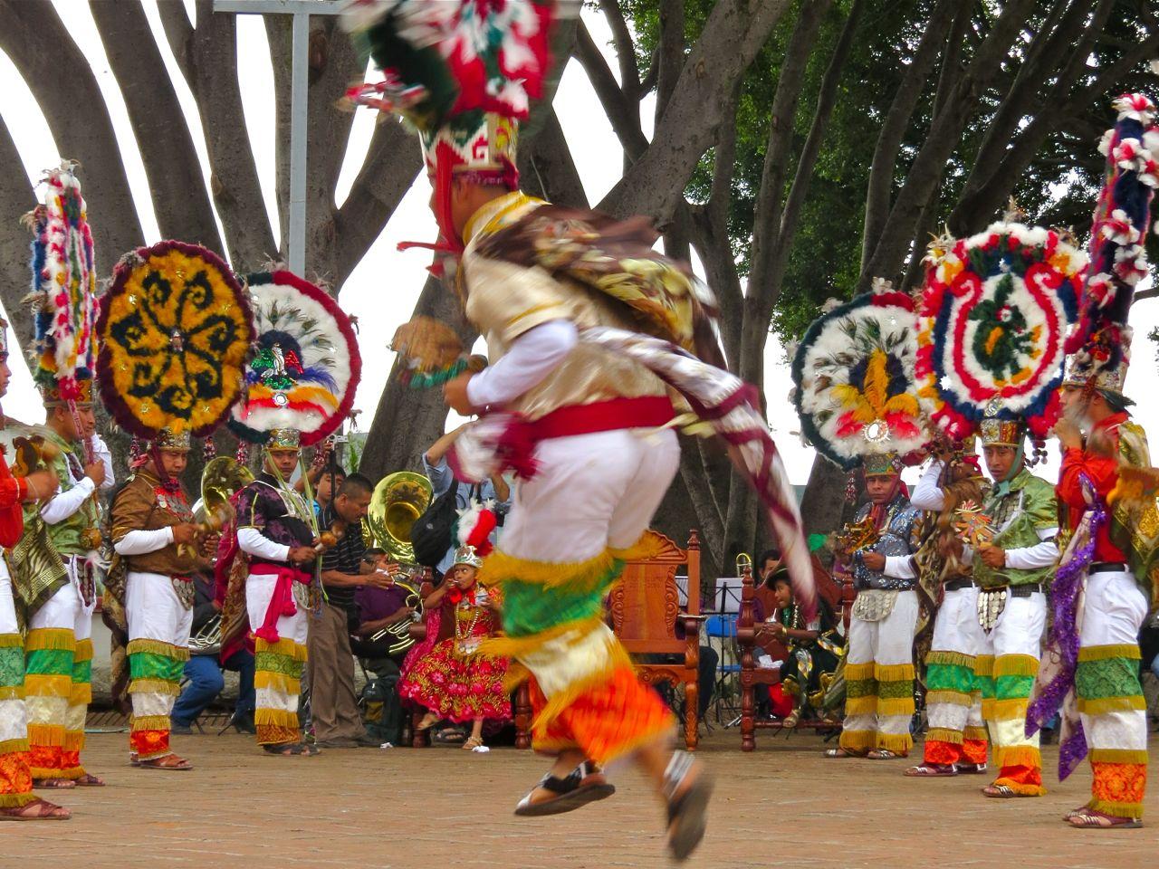 Moctezuma and Danzantes