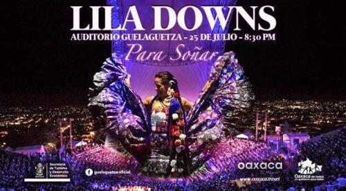 lila downs concierto guelaguetza 2014