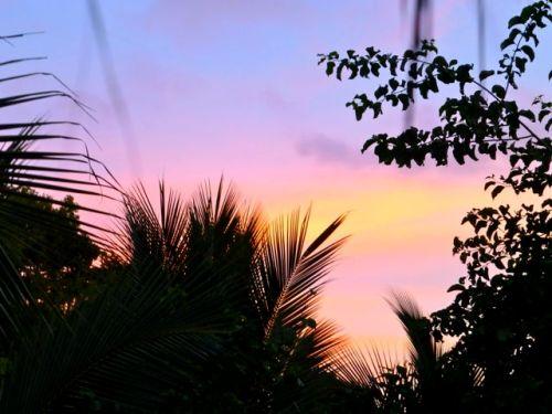 Sunset in Mazunte, Oaxaca