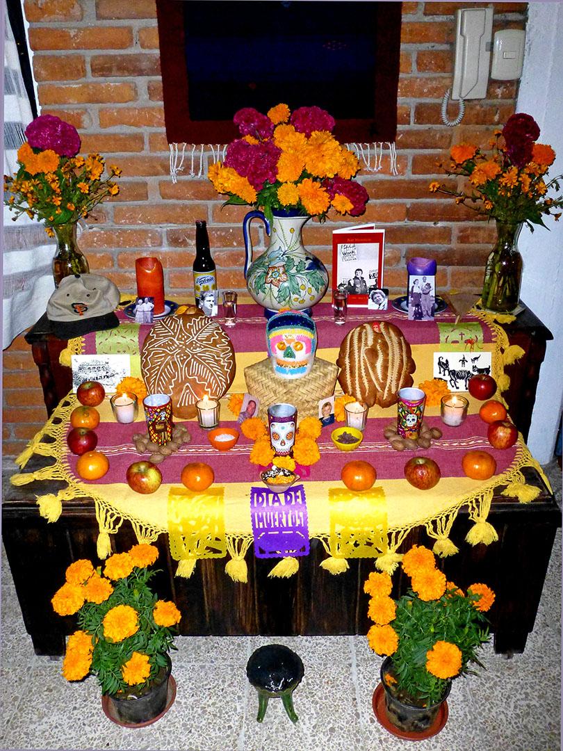 My muertos altar
