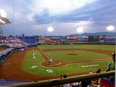 View from Estadio Eduardo Vasconcelos