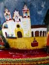 Templo de la Preciosa Sangre de Cristo, Teotitlán del Valle detail from Homenaje a un gran artista: Arnulfo Mendoza by Taller Alfonso Castillo