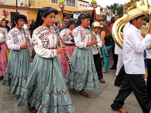 Guelaguetza desfile, July 28, 2012