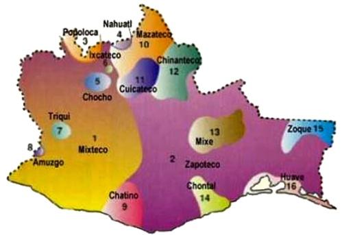 Grupos Etnicos Oaxaca