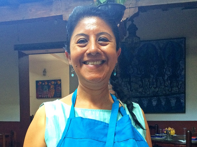 Celia Florian, chef