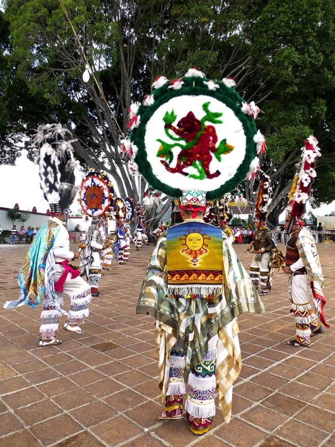 Moctezuma and the Danzantes.