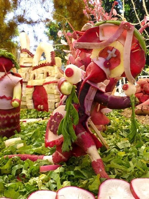 Danza de la Pluma dancer in Rábanos Tradicional category 2012