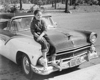 Shan on Ford Fairlane