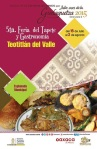 5ta feria del tapete y gastronomica teotilan guelaguetza2015