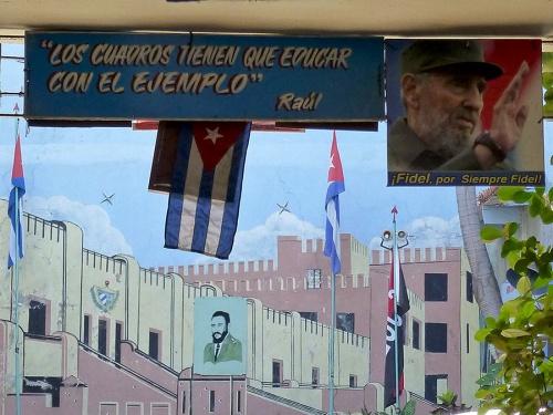 Sitial Moncada museum, Havana -- April 2016.