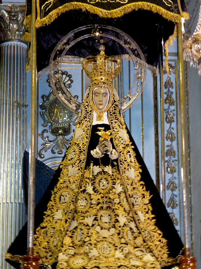 Inside the Basílica, Soledad -- Dec. 17, 2016