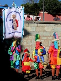 Cuadrilla de mascaritas from Asunción Nochixtlán.