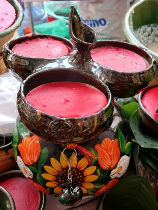 Nicuatole prepared by Teresa Rosa Antonio Hernandez in the city of Oaxaca