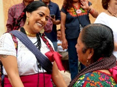 Lila Downs and Abigail Mendoza