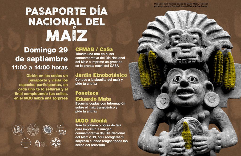 Pasaporte Día del Maíz