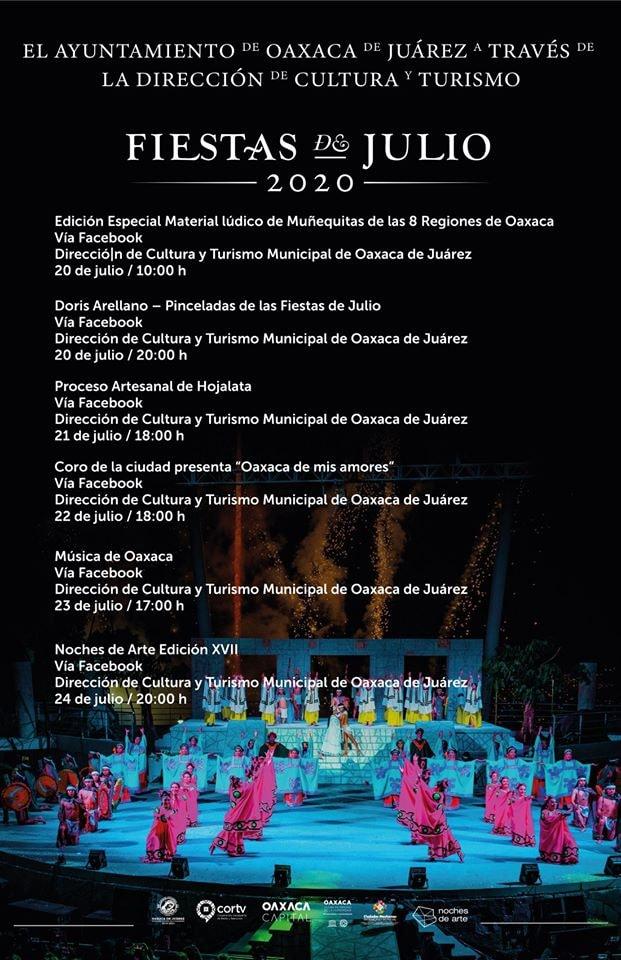 Fiestas Julio 20-24
